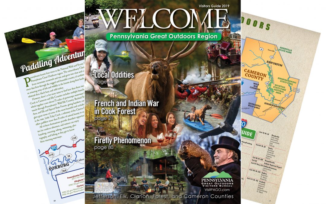 2019 Welcome Guide to the Pennsylvania Great Outdoors Region Available Now