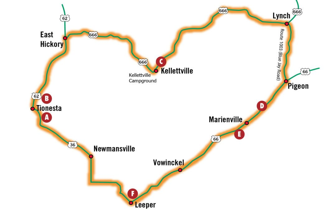 Fall Driving Tours: Allegheny National Forest Drive