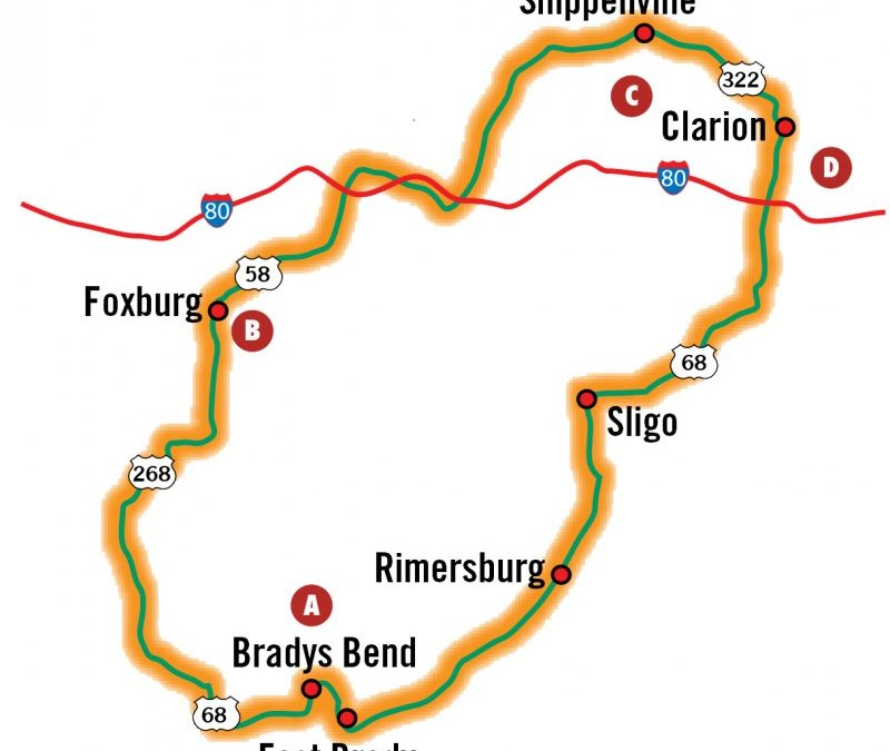 Fall Driving Tours: Clarion Countryside Loop