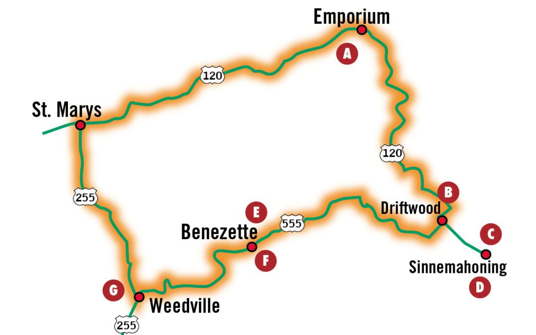 Fall Driving Tours: Elk Country Loop
