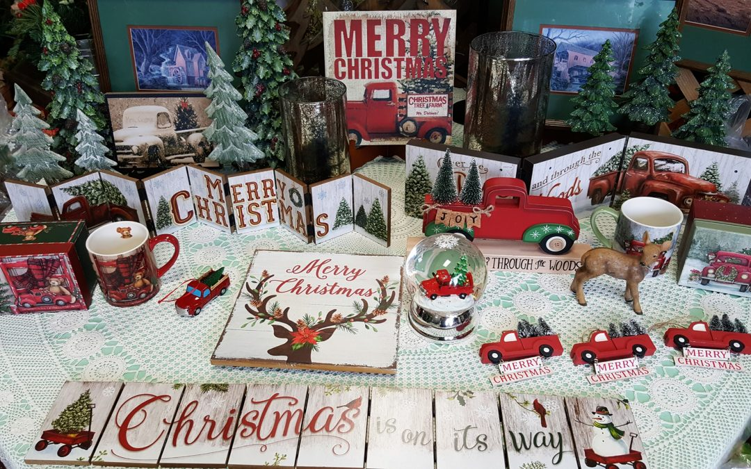 Stock Up for the Holidays All Year Round at Fay's Christmas Village