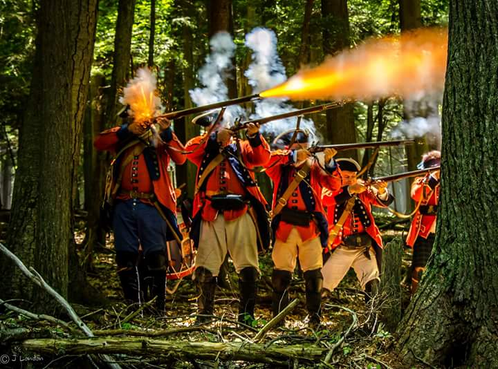 Step Back in Time at Cook Forest's French and Indian War Encampment