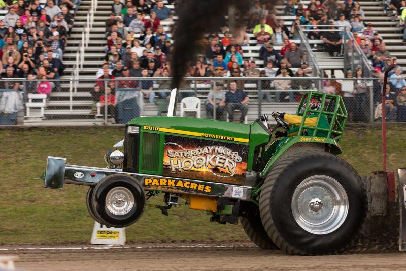 Jefferson County Fair Tractor Pull DanPark - Levi Burtner