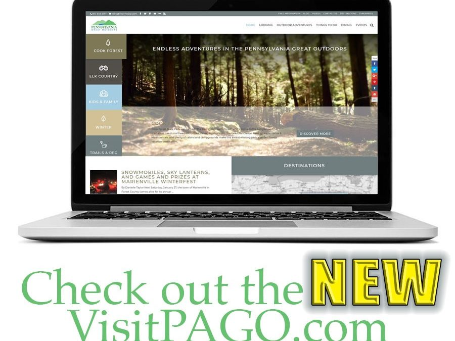 New VisitPAGO.com Website