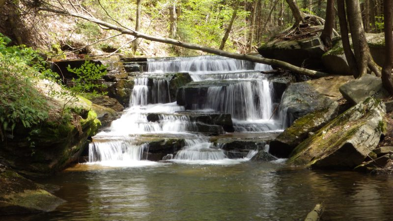 Waterfalls in the PA Great Outdoors