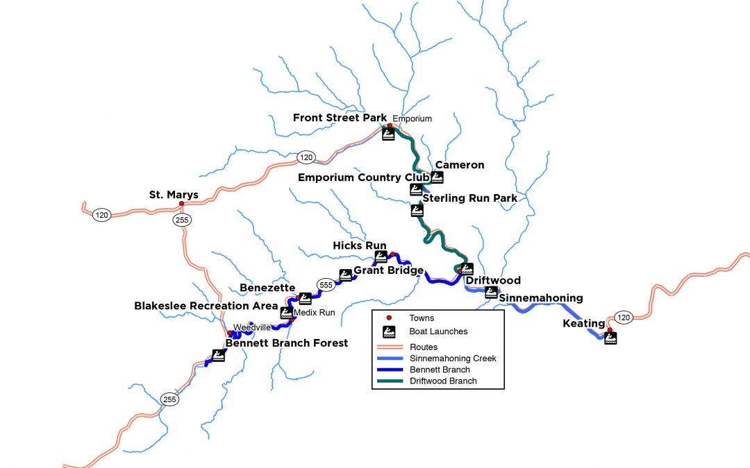 New Sinnemahoning Water Trail
