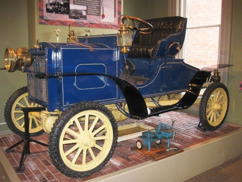 The First Four Wheel Drive Vehicle Was Built in Brookville