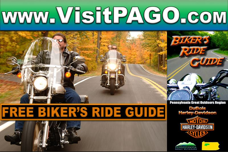 PA Great Outdoors Biker's Ride Guide