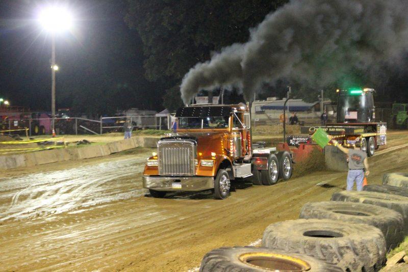 clarion county fair pulls