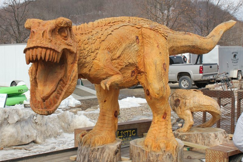 Th annual ridgway chainsaw carvers rendezvous visiting