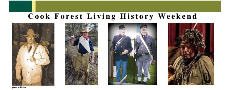 Cook Forest Living History Weekend