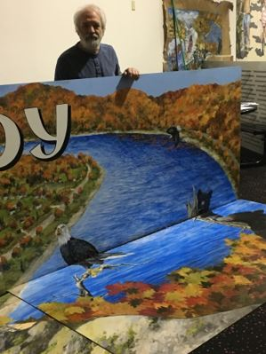 "East Brady ""Playground of the Allegheny"" Mural Dedication"